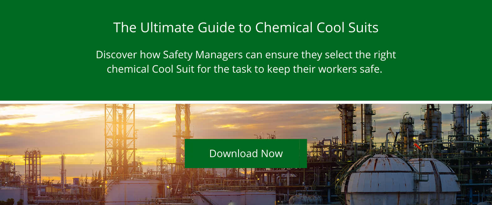 Guide to Chemical Cool Suits