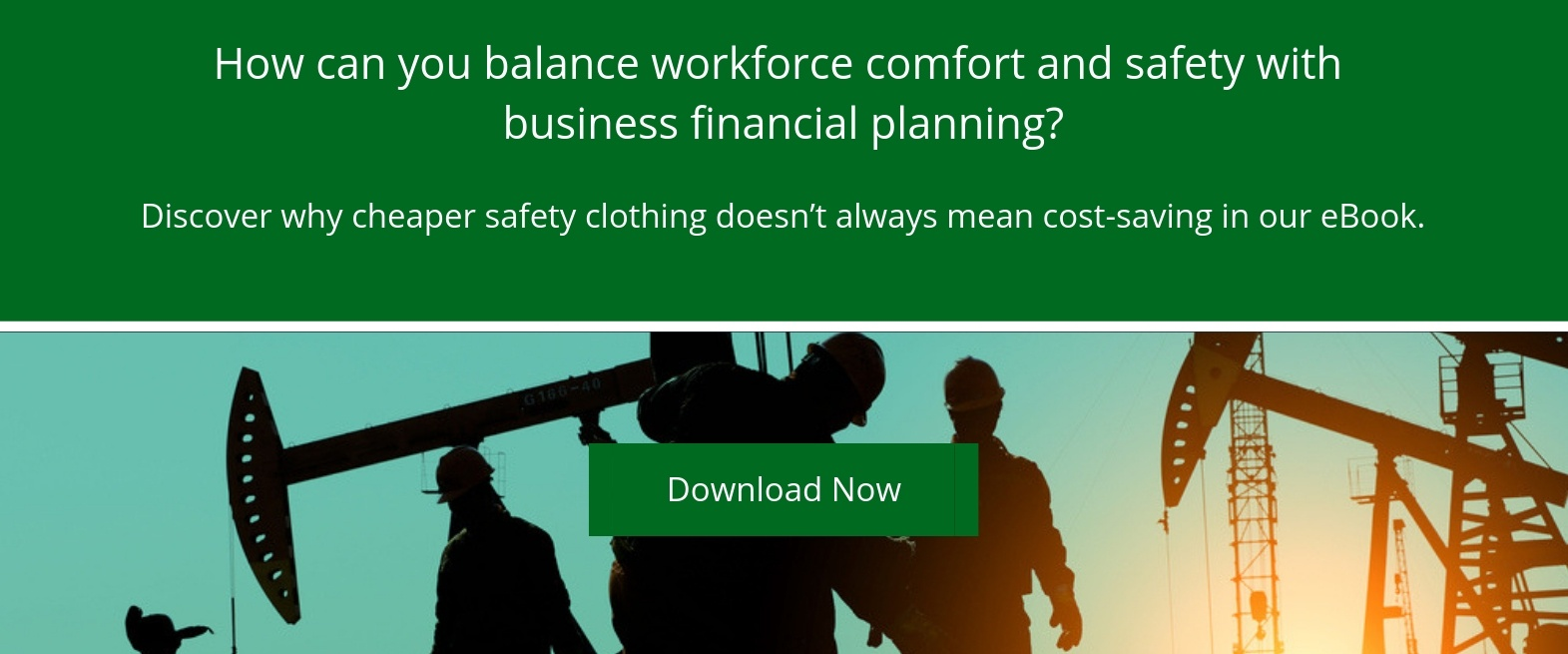 Balancing workforce comfort and safety: Download our eBook