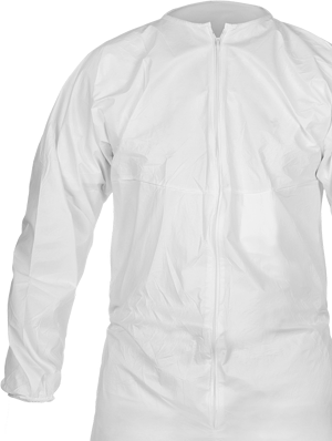 Cleanroom garment picture shown with a white background.