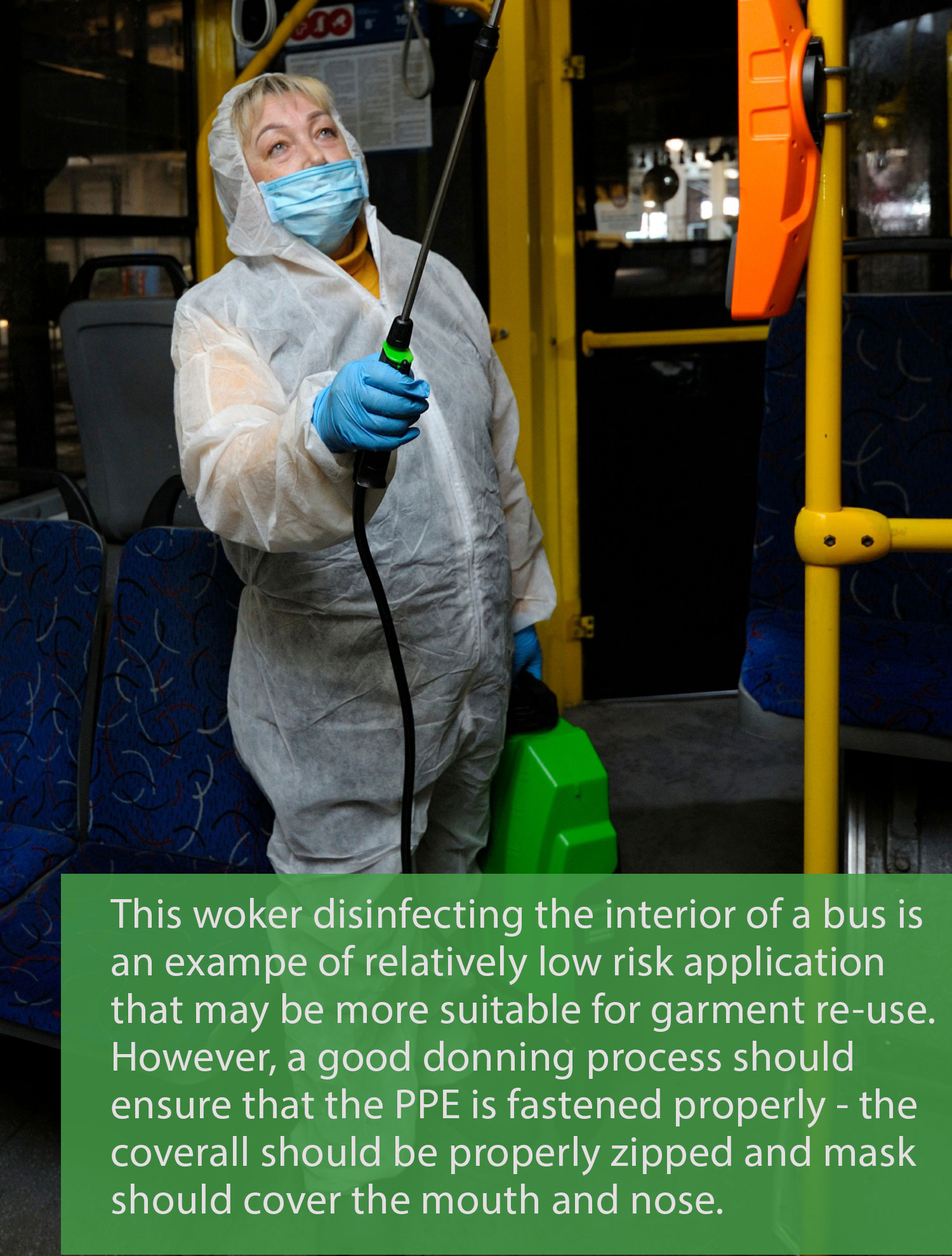bus disinfecting - captioned