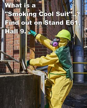 smoking cool suit